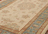 This Afghan runner will lighten up a dark passageway or corridor.