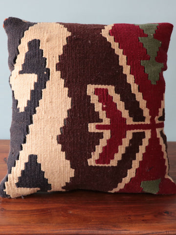 Turkish kilim cushion 252066