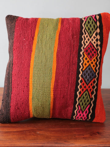 Turkish kilim cushion 252069