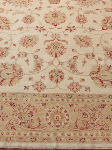 Fine Afghan Ziegler large carpet - 252104