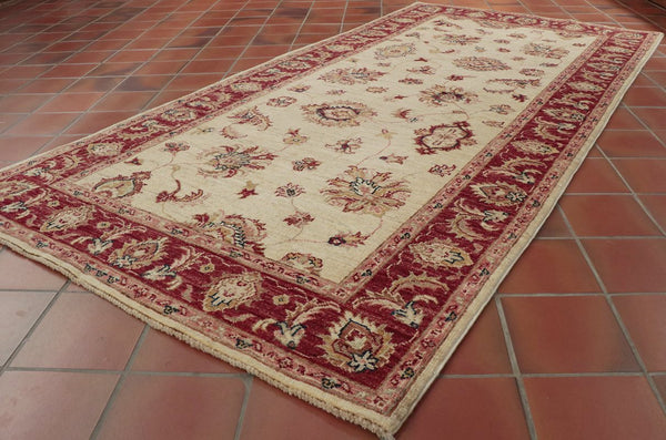 A lovely light coloured Afghan runner ideal for the hall, corridor or landing.