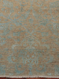 Fine Afghan part silk Mahli carpet - 262857