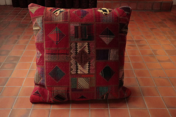 Persian Patchwork kilim cushion - 263196