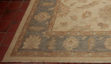 The hard wearing properties of the Afghan wool make this rug suitable for any room in the house.