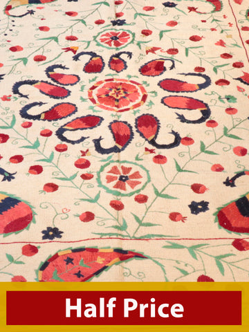 Pakistan embroidered kilim - 262996