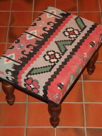 Turkish kilim stool - 263013