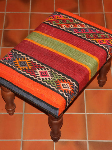 Turkish kilim stool - 263015