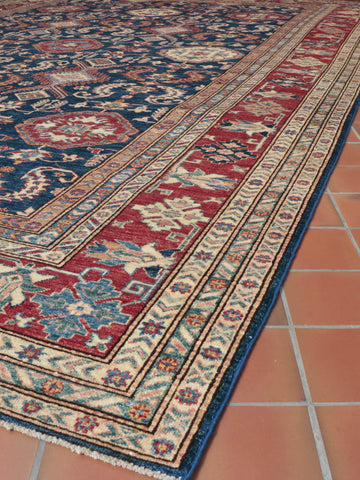 Fine Afghan Kazak large carpet - 273306