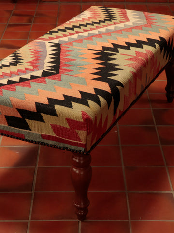 Turkish Kilim Bench - 273471