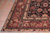 This is a typical all over design for a Persian Nanaj carpet.