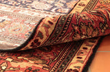 The quality of the wool and depth of pile mean that this Persian carpet is suitable for any location.