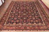 This hand knotted Persian Nanaj carpet is incredibly practical and hard wearing.