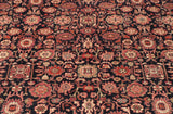 Made from wool in a traditional Persian design this carpet is ideal for a dining room or sitting room.