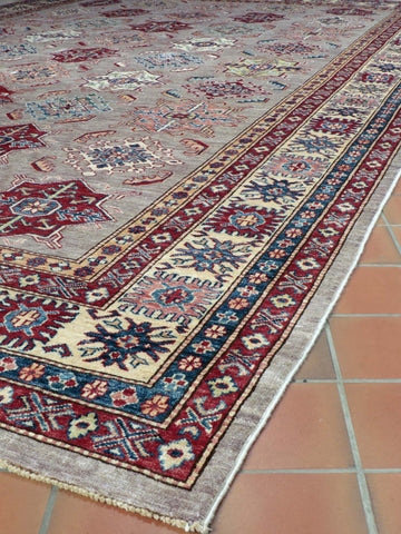 Fine Afghan Kazak large carpet - 273906