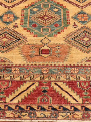 Fine Afghan Kazak large carpet - 273910