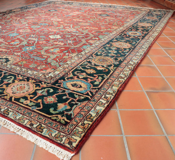 Fine Indian Heriz carpet - 274026