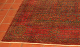 Most Afghan rugs these day often prefer to employ a smaller fringe compared to a couple of decades ago.