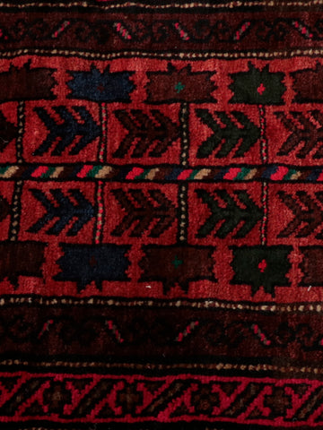 This Afghan Bolesht bag can be used as both a bag face and a Cushion, if you were to fill it with something
