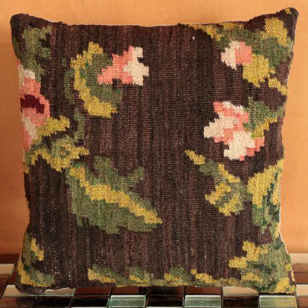 Moldovan kilim cushion - 284432