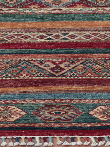 An exquisite Afghan Samarkand - finely hand-knotted using naturally dyed wool from the native Afghan sheep