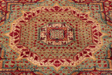 The centre of this rug is truly breathtaking, the way the colours meld together harmoniously