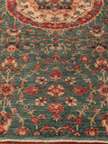 A wonderfully detailed Afghan Aryana - finely handcrafted using the naturally dyed wool of the native Afghan sheep.