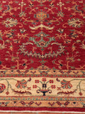 An excellent Afghan Aryana, finely handcrafted from the naturally dyed wool of native Afghan sheep.