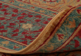due to the fineness of this Mamluk piece, the back of the carpet is almost as detailed as the front.