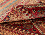 The colour of any Oriental carpet will differ from one end to the other.