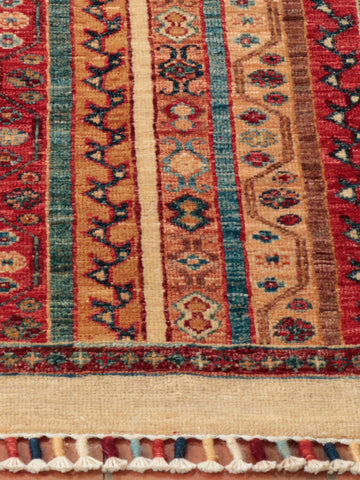 A wonderful, handcrafted Afghan Samarkand - finely knotted from naturally dyed sheep wool.
