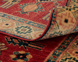 The detailed backing of this piece is sure sign of an outstanding quality, handmade rug.