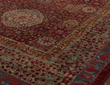 protecting the rug is lanolin, a natural waxy substance found in the wool.
