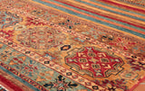 When buying a handmade rug you should consider taking a look at the rug from both ends