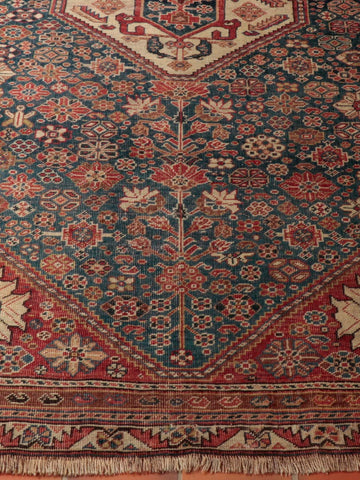 Antique Persian Qashqai rug - 284628