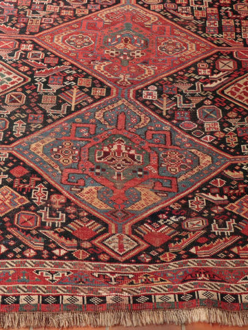 Antique Persian Qashqai rug - 284629