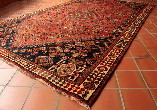 Persian rugs are generally a thicker pile than say, Pakistan or Afghan pieces.