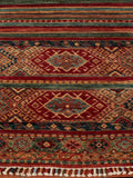 A truly excellent Afghan Samarkand runner - finely handcrafted using naturally dyed wool.