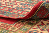 The best way to assess a quality rug is undoubtedly by looking at the back.