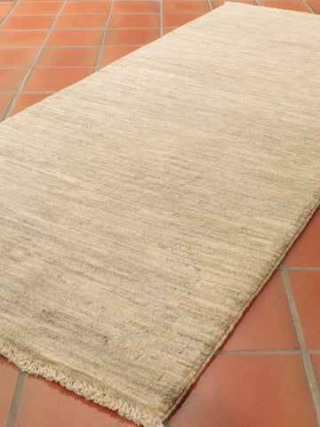 Natural Afghan Gabbeh runner - 284706