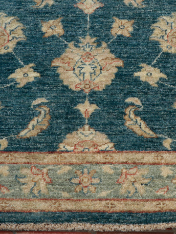 Afghan Ziegler designs originate from the Victorian era, where William Morris collaborated with Ziegler.