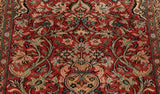 The wondrous floral patterning present throughout the rug can be greatly appreciated when studying this central image.