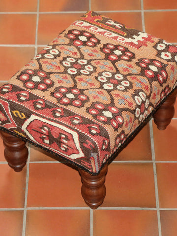 Turkish kilim stool - 284882