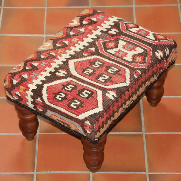 Turkish kilim stool - 284887