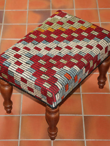 Turkish kilim stool - 284889