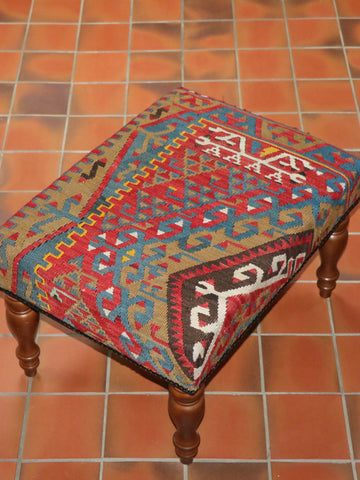 Turkish kilim stool - 284892
