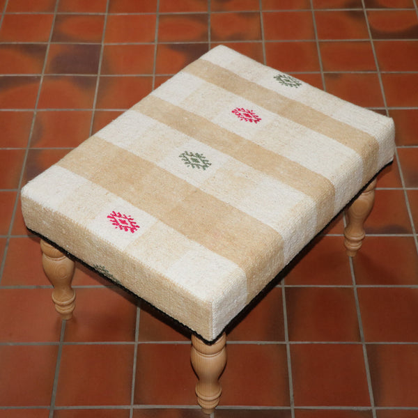 Turkish kilim stool - 284893