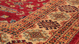 Made using native Afghan wool, this Kazak is suitable for any room in the house.