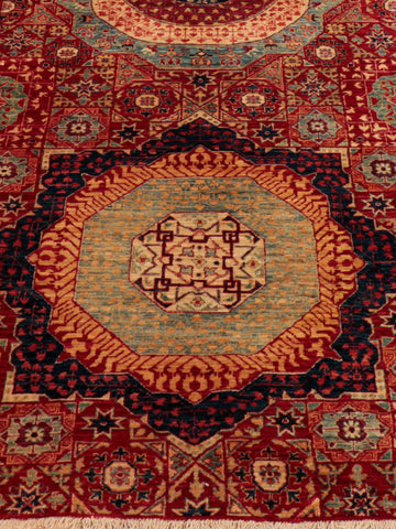 Fine Afghan Mamluk long runner - 285101