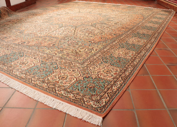 Fine Kashmir Silk carpet - 285209