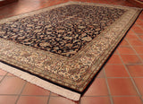 Fine Kashmir Silk carpet - 285211